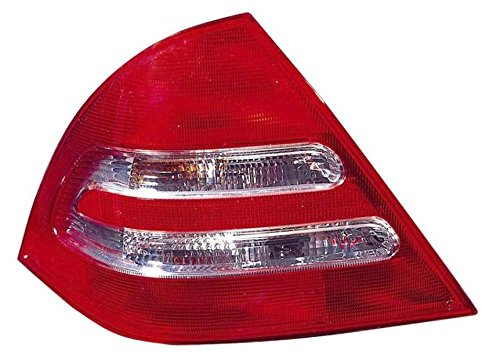 Taillight Taillamp Driver Side Left LH for 01-04 Mercedes C-Class 4 Door Sedan ()