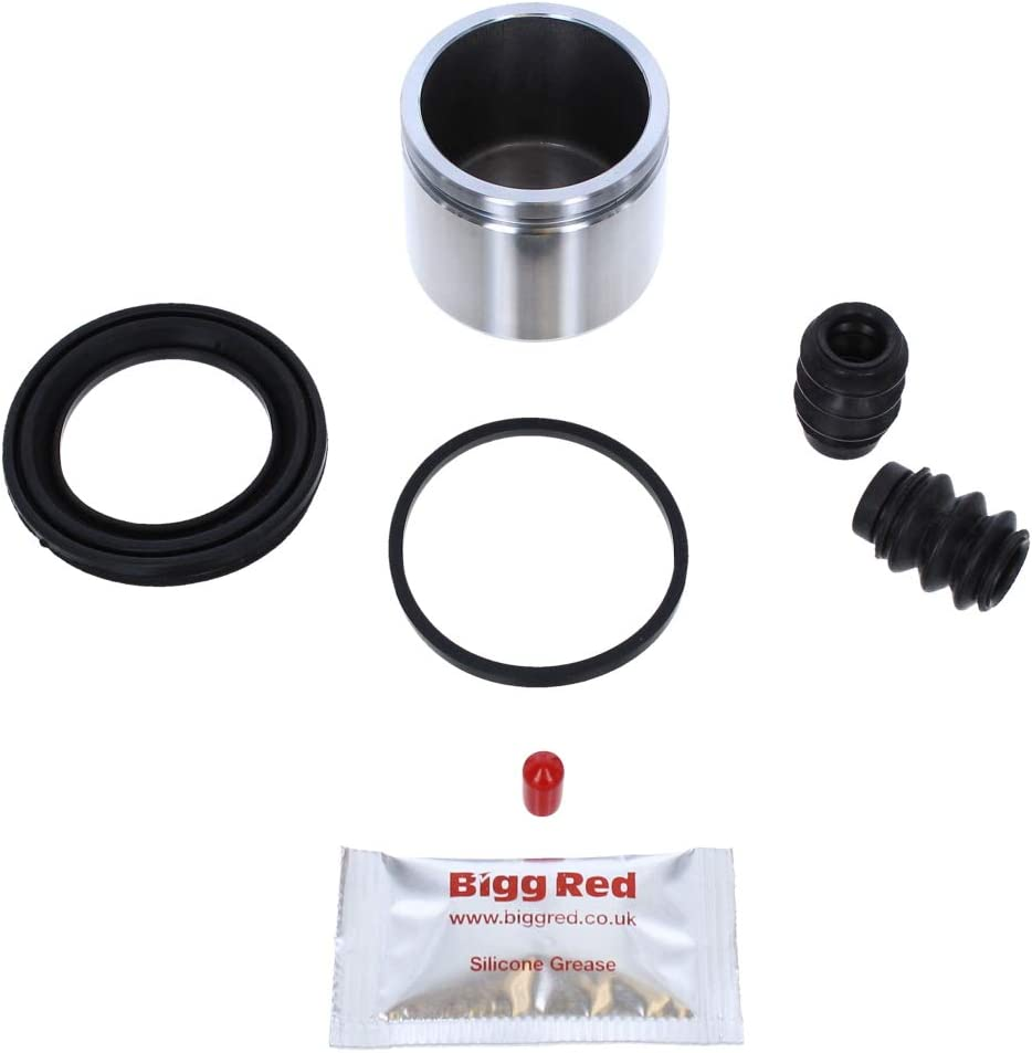 BRKP125S Front Brake Caliper repair seal kit /& piston