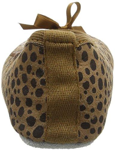 Shepherd 43 Saga Femme Chaussons Leopard Bas Marron q67HqFrPw