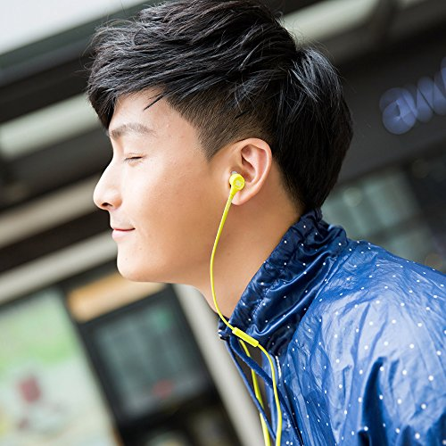 SOUL Electronics SP05GN K-Pop Ultra High Performance In-Ear Headphones, Green