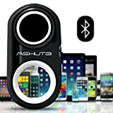 BPSMedia® Premium Bluetooth Remote Camera Shutter Release - Great for Selfie and Group Photo, Travel and Outdoor - Remote Control for Picture, Timer and Video - for iPhone & Android (White)