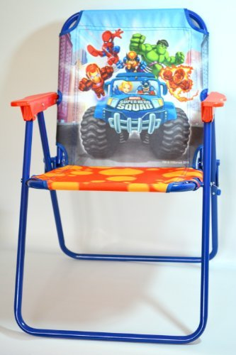 Pleasant Folding Camp Arm Chair For Kids Marvel Spider Sense Spiderman Pabps2019 Chair Design Images Pabps2019Com