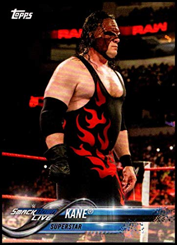 2018 Topps WWE Then Now Forever Wrestling #140 Kane Official WWE Trading Card Wrestling Cards