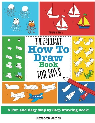 Brilliant How Draw Book Boys product image