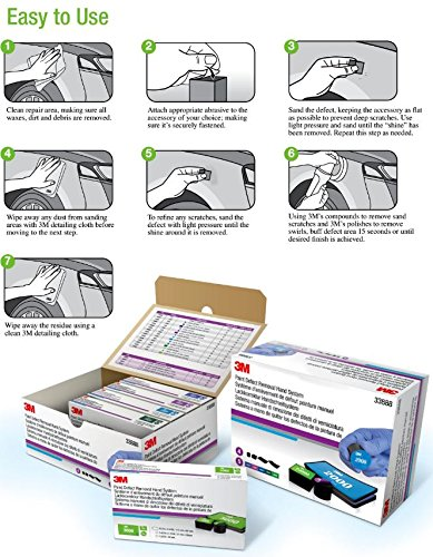 3M 33888 Paint Defect Removal Hand System Kit by 3M (Image #3)