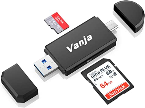 Amazon.com: Vanja - Lector de tarjetas USB 3.0 tipo C Micro ...