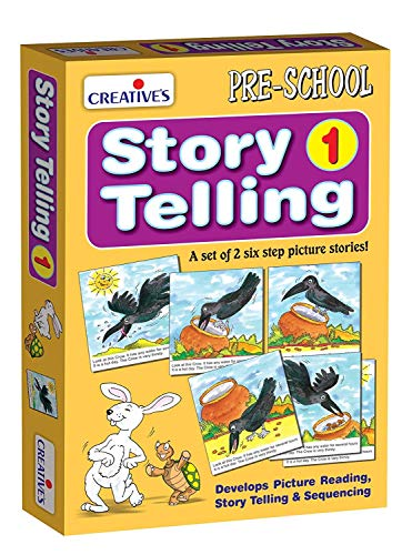 StonKraft Preschool Learning Toys - Story Telling Step-by-Step | Educational Toys | Learning Games | Storytelling Game
