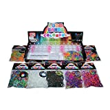 Fluro Loom Band Kit 500pce + BONUS Charms & 2100 Loom Bands + 112 S Clips