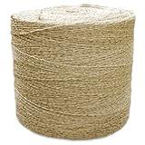 CWC Sisal Tying Twine - 1 Ply, 410 lbs Tensile (Pack of 10 rolls)