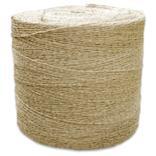 CWC Sisal Tying Twine - 3 Ply, 405 lbs Tensile (Pack of 2 rolls) by Continental Western Corporation