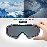 OutdoorMaster OTG Ski Goggles - Over Glasses