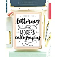 Image for Lettering and Modern Calligraphy: A Beginner's Guide: Learn Hand Lettering and Brush Lettering