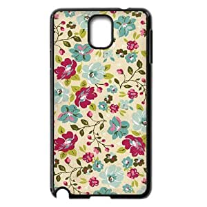 Retro Floral Series Custom Cover Case for Samsung Galaxy Note 3 N9000,diy phone case ygtg597996