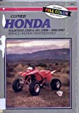 Honda ATC2SOR and Fourtrax, Ed Scott, 0892874376
