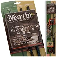 ZEBCO SALES MARTIN COMPLETE FLY ROD KIT / ZEB-MRT56TK-6L-BP6 /