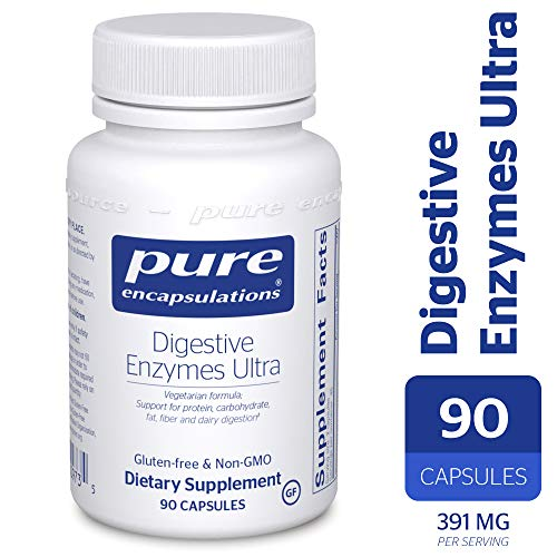 Pure Encapsulations - Digestive Enzymes Ultra - Comprehensive Blend of Vegetarian Digestive Enzymes - 90 Capsules