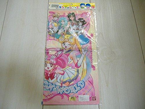 美少女戦士セーラームーン セーラームーンワールド バンダイ ハンカチ 当時物 超 グッズ オモチャ おもちゃ 玩具