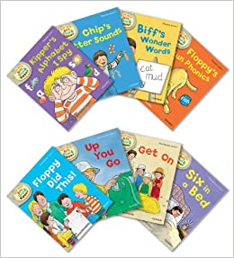 Oxford Reading Tree Read With Biff, Chip, and Kipper: Level 1: Pack of 8:  Roderick Hunt: 9780192794918: Amazon.com: Books