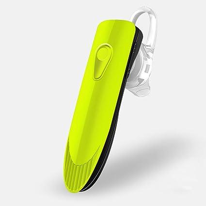 Hanbaili Auriculares inalámbricos Bluetooth livianos con micrófono de reducción de ruido para iPhone X Samsung S9