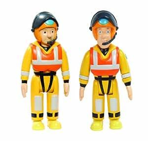 Sam el bombero - Fireman Sam - Conjunto de figuras - Tripulación del barco FS03719