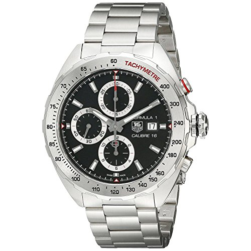(TAG Heuer Men's CAZ2010.BA0876 Analog Display Swiss Automatic Silver Watch)
