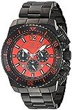 Invicta Men's 'Pro Diver' Quartz Stainless Steel Casual Watch, Color:Black (Model: 21958)
