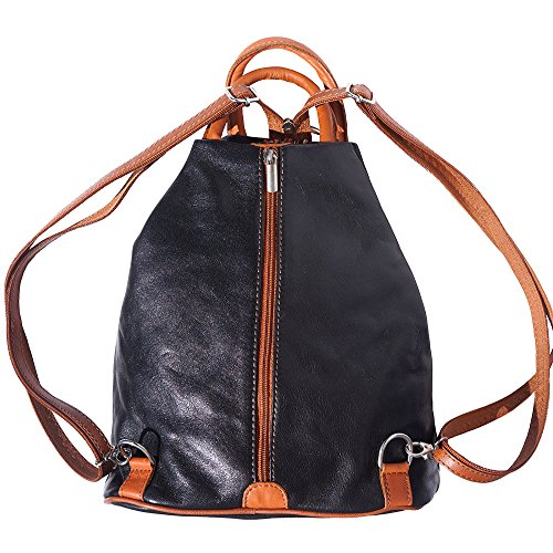 hombro Negro bronceado 2061 mochila Bolso bolsa y de 1xFZvT4wIq