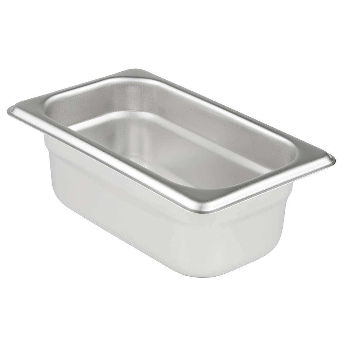 Update International SPH-112 2.5-Inch Ninth-Size Anti-Jam Steam Table Pan, Silver