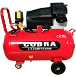 COBRA V TWIN 70L LITER ELETRIC AIR COMPRESSOR 15CFM 3HP 230V 116PSI PORTABLE