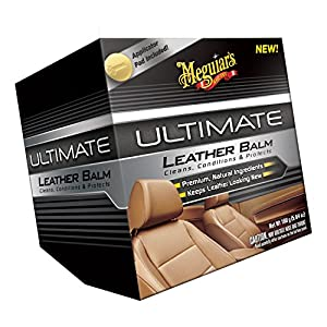 Meguiar's G18905 Ultimate Leather Balm, 5.64 oz.