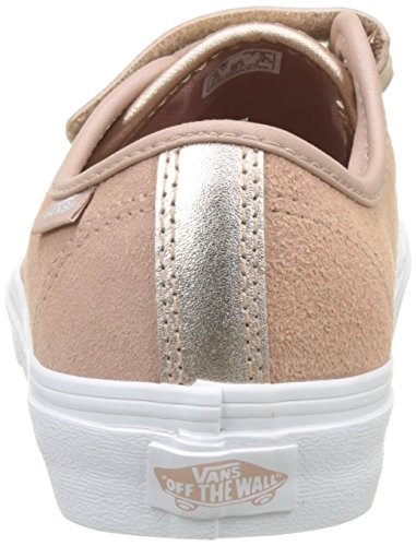 Trainers Style Rose Pink 23 White True Vans Metallic 2 Women's V Mahogany tone wqU1ngI4Cx