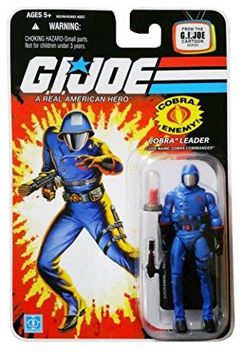 - G.I. Joe 25th Anniversary Cartoon Series Cardback: Cobra Commander (Cobra Leader) 3.75 Inch Action Figure