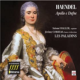 Amazon.com: Apollo e Dafne, Sérénade pour soprano, basse & orchestre