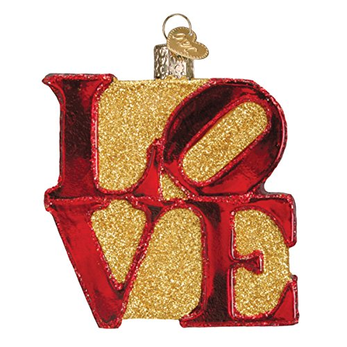 Old World Christmas Ornaments: Love Glass Blown Ornaments for Christmas Tree
