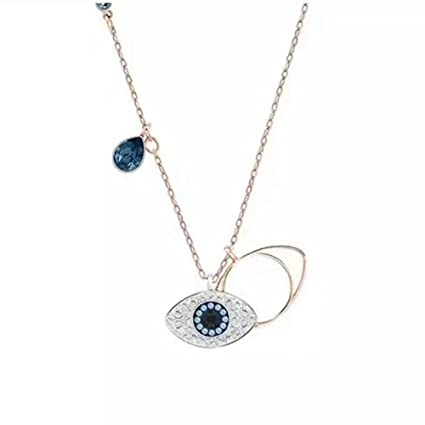 Y-Necklaces Pendant Necklaces Women Jewelry Valentine s Day Crystal Devil s  Eye Necklace Devil Eye Gift Send Girlfriend 60684e923