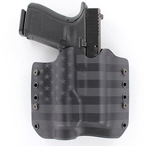OWB TLR-1 Holster - Black (Right-Hand, Glock 17 - Gen 3, 4 & 5 Compatible) (Best Glock 22 Gen 4 Holster)
