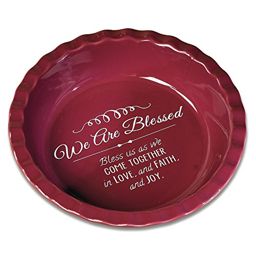 Abbey Gift We are Blessed Deep-Dish Pie Plate