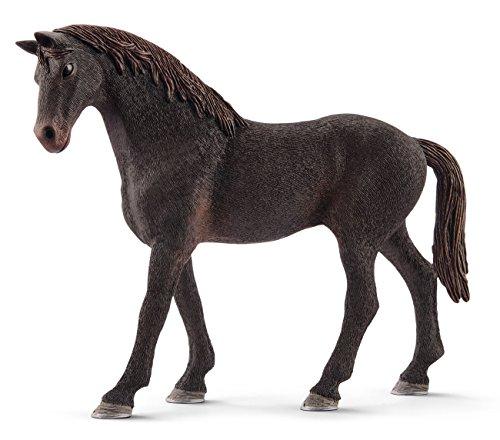 Schleich English Thoroughbred Stallion Toy Figurine ()