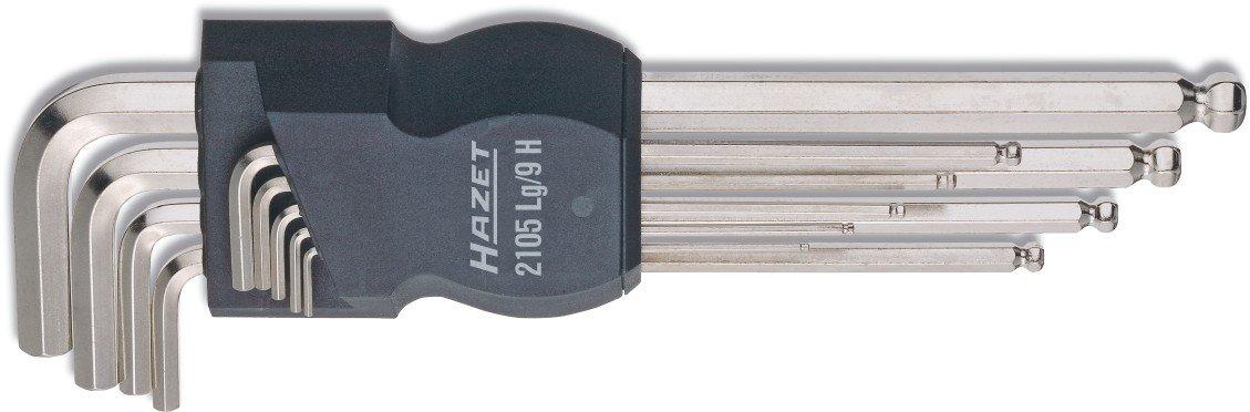 Hazet 2105LG/9H Jeu de clé s coudé es (Import Allemagne)