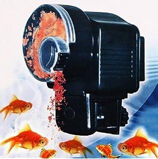 Máquina expendedora de comida para peces de acuario - Temporizador ajustable