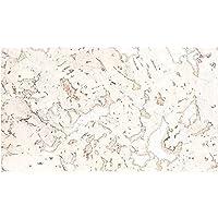 Wandkork in weiß, Stärke 3 mm, Format 300 x 600 mm