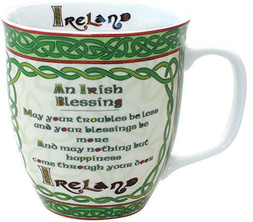 Celtic Collection Irish Blessing Mug