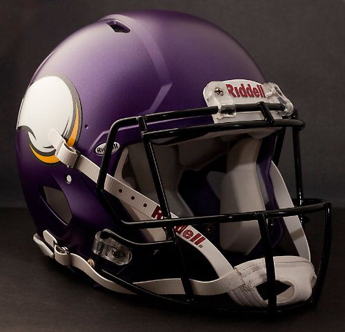 NFL Minnesota Vikings Speed Authentic Helmet by Riddell