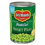 Del Monte Fresh Cut Sweet Peas - with Sea Salt 15 oz. (Pack of 3)