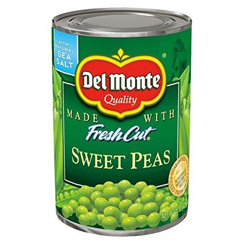 (Del Monte Fresh Cut Sweet Peas - with Sea Salt 15 oz. (Pack of)