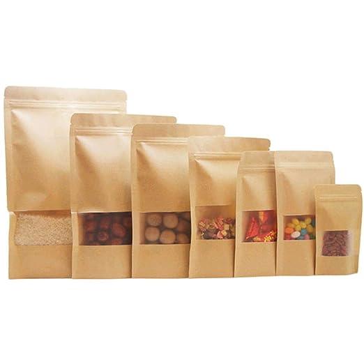 Bolsa de almacenamiento de alimentos de papel kraft, Bolsa ...