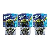 ziploc container twist n loc - Ziploc Brand Twist 'N Loc Containers Featuring Marvel Studios' Avengers: Infinity War Design, Medium, 32 oz, 2 ct,  Pack of 3