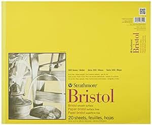 Amazon.com: Strathmore str-342 – 14 20 Hoja de Bristol Pad ...