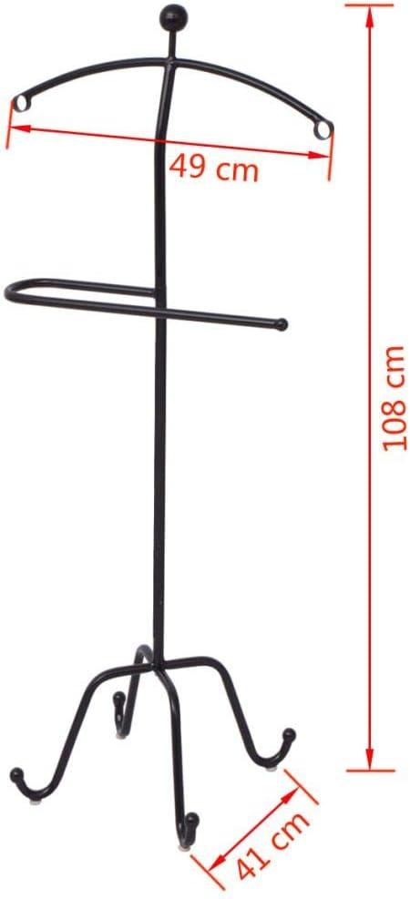 3725 SKM Suit Valet Stand 19.3x16.1x42.5 Black