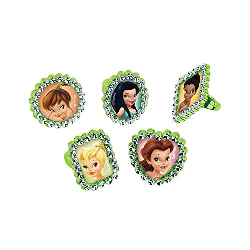 Tinker Bell and the Disney Fairies Jewel Rings / Favors (18ct)